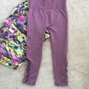 Cute capris length legging